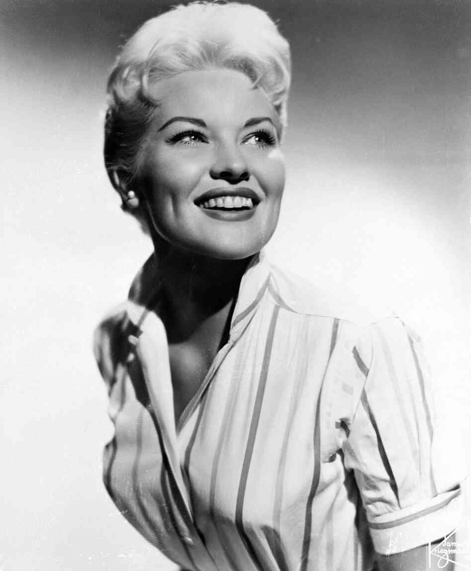 "Patti Page — known for such songs as ""Tennessee Waltz"" and ""How Much Is That Doggie in the Window?"" — is seen here in 1958. Page died Tuesday at age 85."