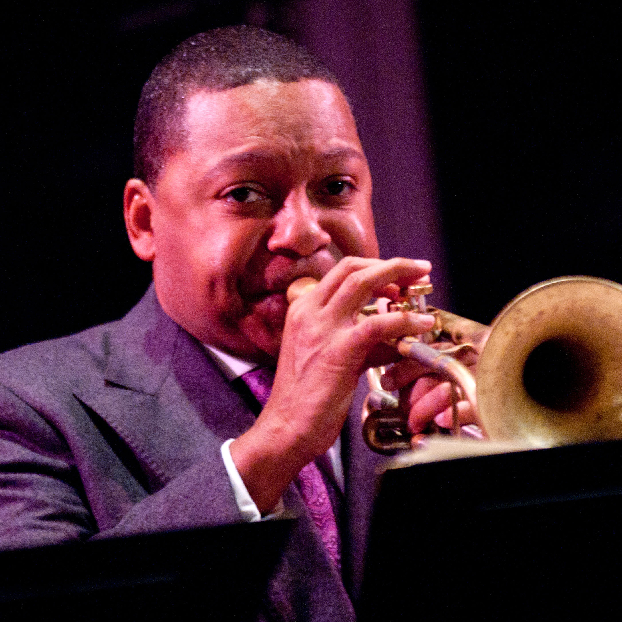 Wynton Marsalis performs at Dizzy's Club Coca-Cola in 2011.