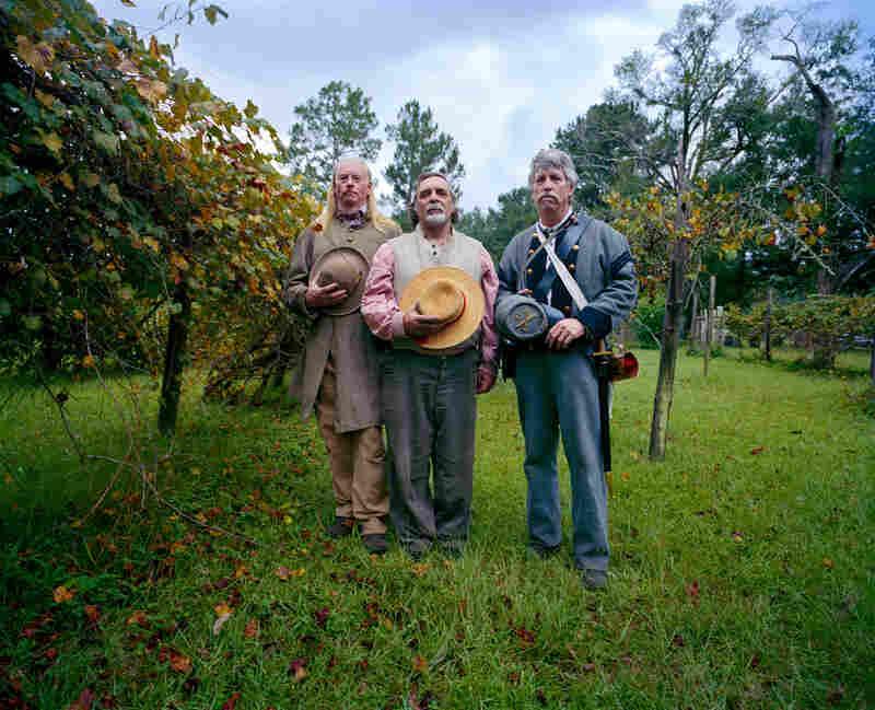 Ken McGhee, Bettle Bailer and Stephen Ellison, Magee Farm, Kushla.
