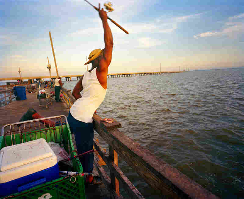 Ben Davis, Cedar Point Pier, South Mobile County.