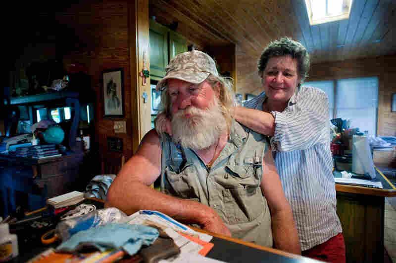 Capt. Brent and Pam Shaver, Orange Beach.