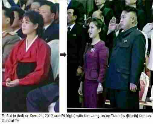 North Korean first lady Ri Sol-ju.
