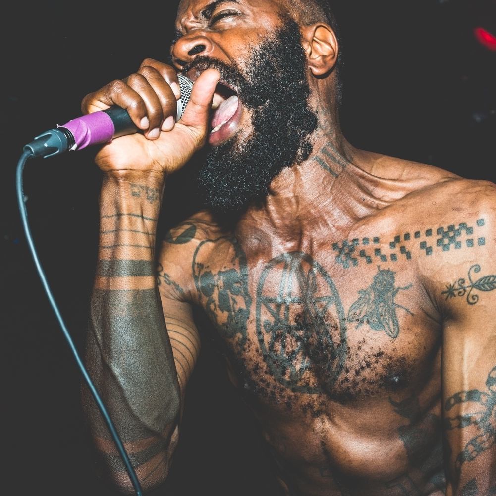 Death Grips at Le Poisson Rouge.