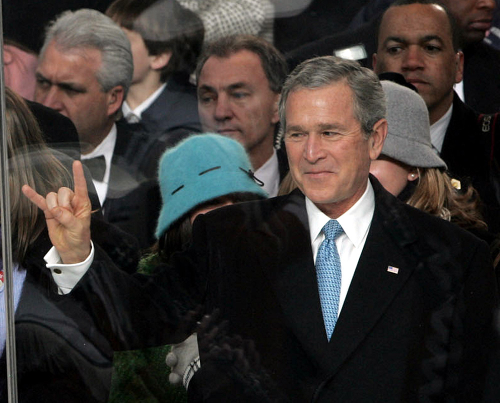 "What's so odd about President Bush giving the ""Hook 'em, 'horns"" salute of the University of Texas Longhorns during the inaugural parade in 2005? Nothing, unless you were in Norway, where people thought his gesture was a salute to Satan."