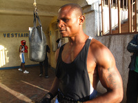 Balezi Bagunda, who boxes under the name