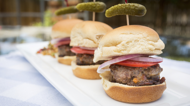 Sliders. We're over them, the National Restaurant Association says. (iStockphoto.com)