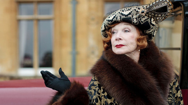 Social changes, romantic intrigues and financial crises grip the English country estate in the third season of Downton Abbey, starting Sunday on PBS. Shirley MacLaine joins the cast as Cora's wealthy American mother, Martha Levinson. ( Carnival Film & Television Limited 2012 for Masterpiece)