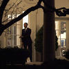 President Obama leaves the Oval Office early Wednesday after the House passed legislation to retain tax breaks for most Americans, let tax rates rise for the wealthiest, and delay action on mandatory spending cuts.