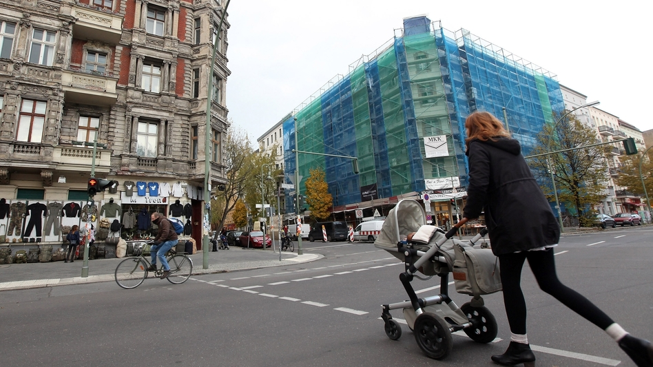 Berlin's Prenzlauer Berg neighborhood, like many others across the city, is experiencing a real estate boom. Housing prices have risen by as much as 20 percent in the past year in some German cities. (Getty Images)