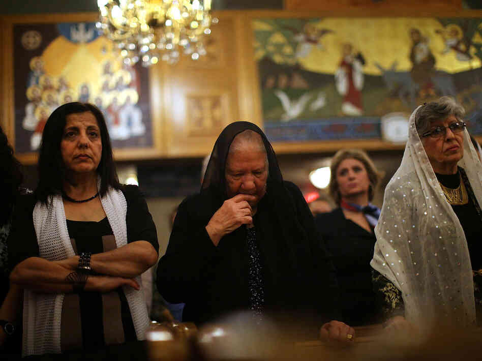Amid instability in egypt coptic christians flee to u s npr