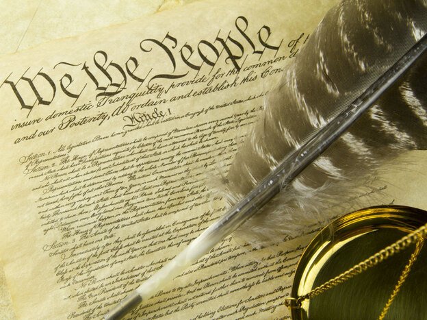 Law professor Mike Seidman argues that it's time to reexamine the role of the Constitution. (iStockphoto.com)