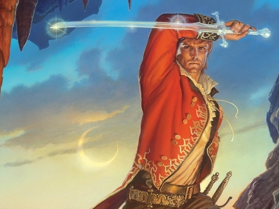 <em>The Wheel of Time</em> series tells the story of Rand Al'Thor, a farm boy who discovers he's a prophesied hero.
