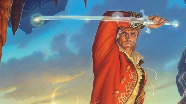 The Wheel of Time series tells the story of Rand Al'Thor, a farm boy who discovers he's a prophesied hero. (Tor Books)