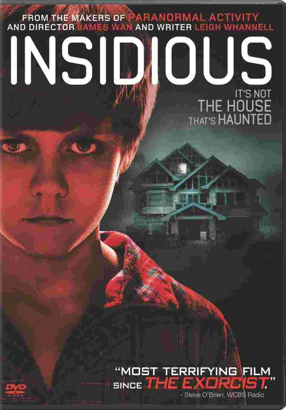 The cover of Insidious