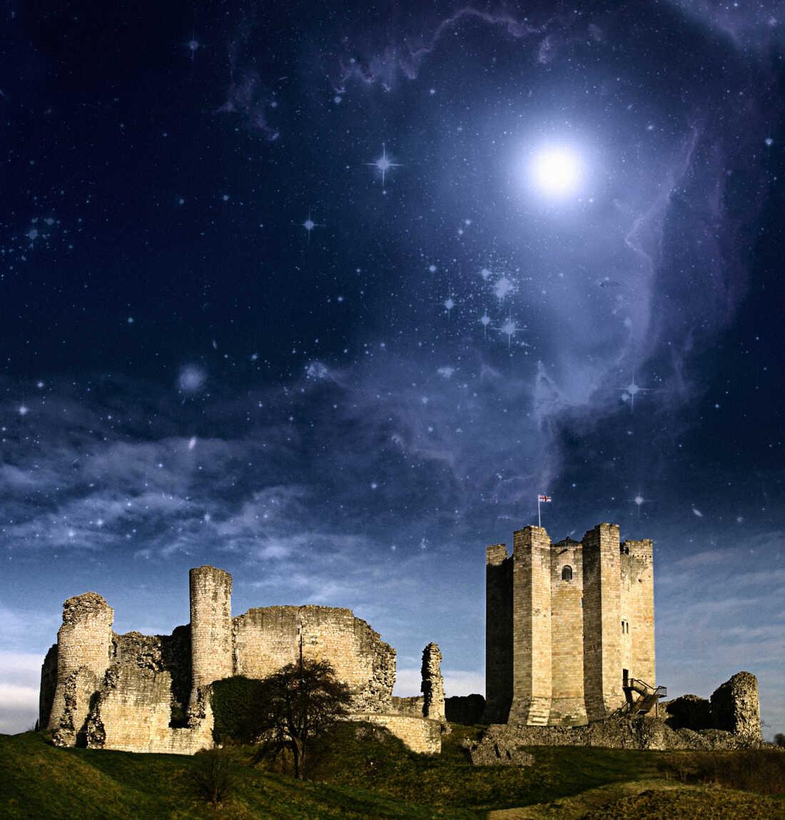 Fantasy Castle Landscape