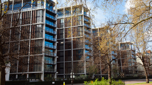 The apartments at One Hyde Park have been mostly purchased by foreign-registered buyers, according to The Guardian. It said the prices ranged from 3 million to 136 million British pounds ($4.9 million to $221 million).