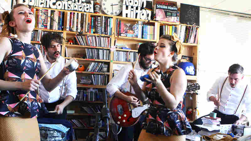 Lucius: Tiny Desk Concert