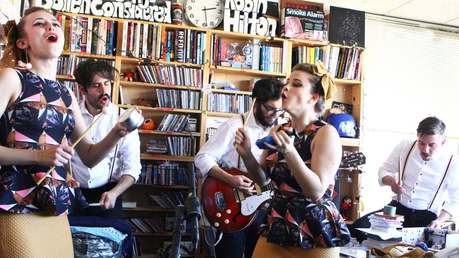 Lucius Tiny Desk Concert (NPR)