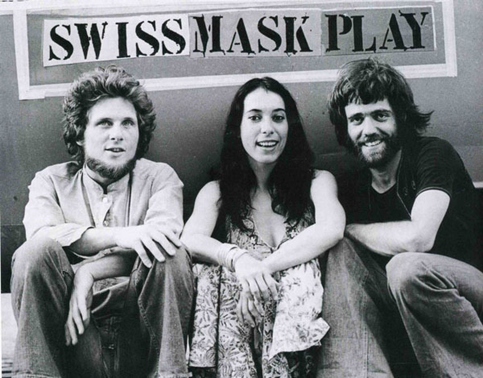 Mummenschanz's original founders (from left) Andres Bossard, Floriana Frassetto and Bernie Schurch. (Mummenschanz)