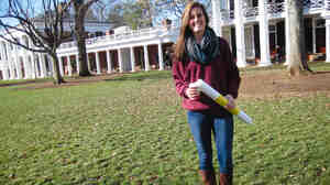 Meredith Was, a senior at the University of Virginia, heads a chapter of the mental health advocacy group Active Minds.