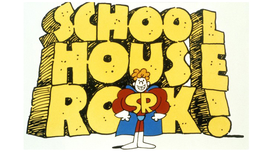 Schoolhouse Rock!, the series of educational shorts that ran on Saturday mornings in the 1970s and '80s, is 40 this year. (ABC)