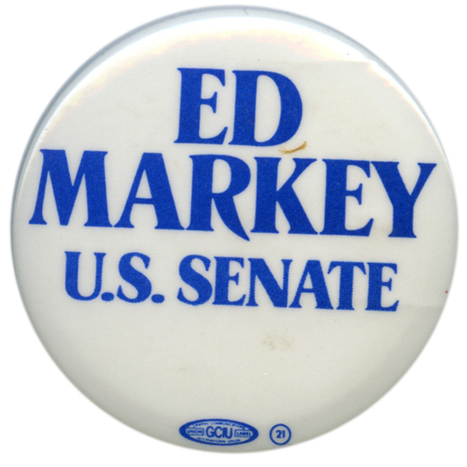 Markey was briefly a Senate candidate in 1984.  This time he's in for real. (Ken Rudin collection)