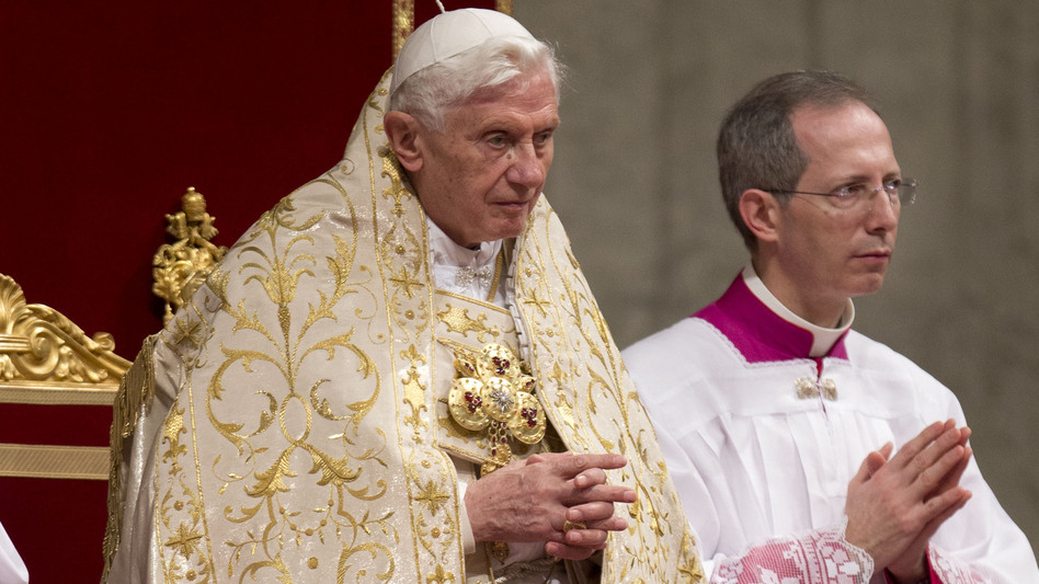 "During his New Year's address last week, Pope Benedict XVI decried ""unregulated financial capitalism"" as a source of global conflict. (AP)"