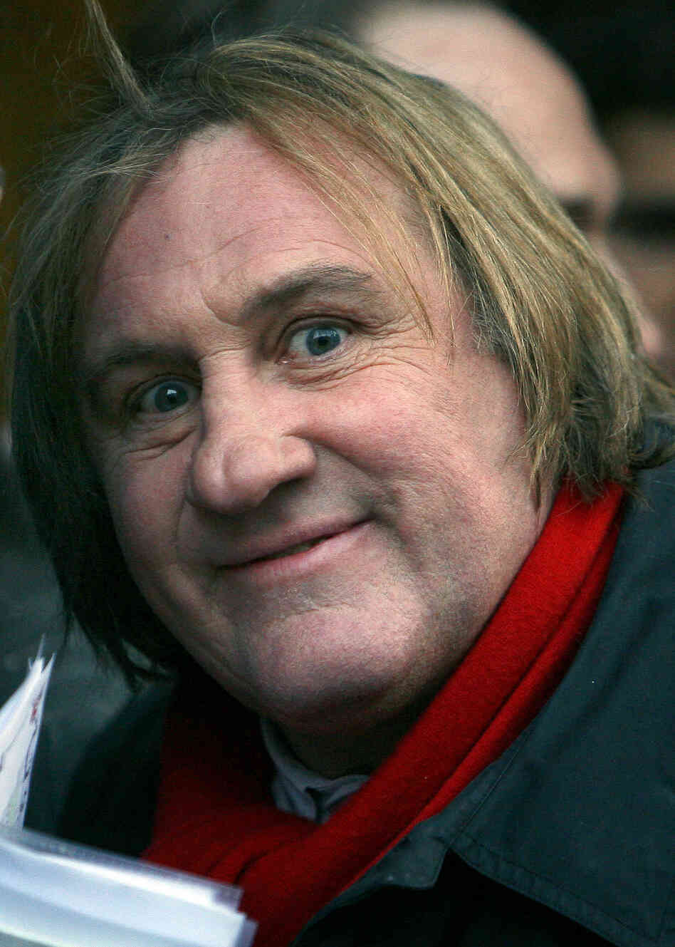 French actor Gerard Depardieu arrived Saturday in Russia to meet with President Vladimir Putin. Putin offered Depardieu citizenship after the actor said he was leaving France to protest a new tax rate of 75 percent o