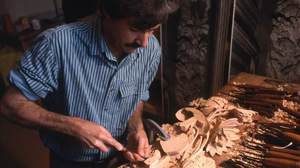 David Esterly has been a professional limewood carver since the 1970s.