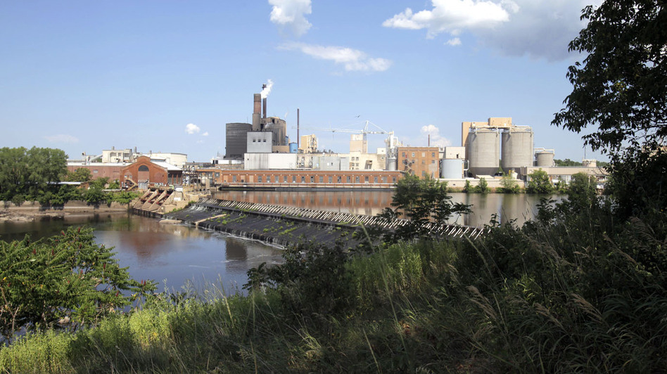 The Nekoosa Paper Mill was established in 1883. Its mill in Nekoosa, Wis., sits on the banks of the Wisconsin River, and is now owned by a Canadian paper company. (Milwaukee Journal Sentinel)
