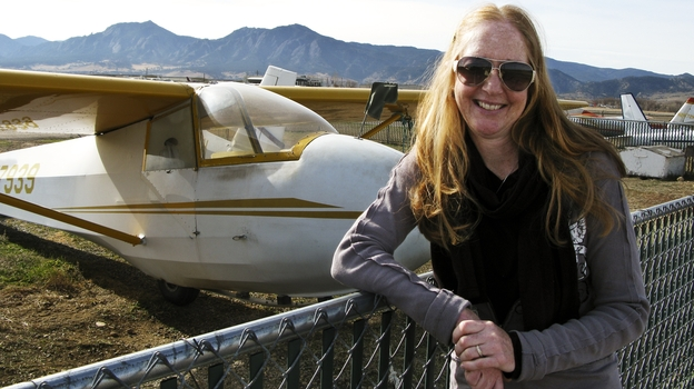 Carol Fiore's husband, Eric, died after the plane he was test-piloting crashed in Wichita, Kan., 12 years ago. An atheist, Carol felt no comfort when religious people told her Eric was in a better place. (NPR)