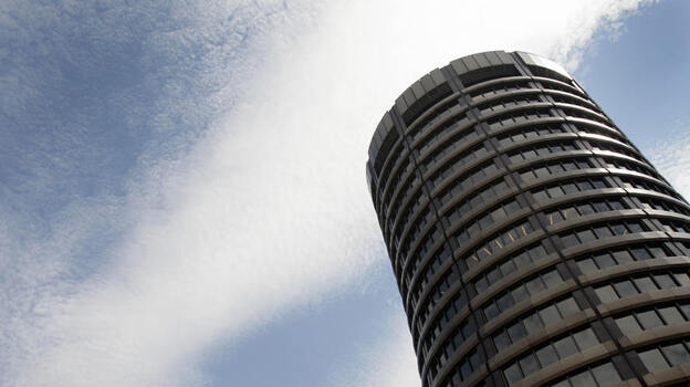 The Bank for International Settlements in Basel, Switzerland: world capital of bank rules that sound boring but are actually a big deal. (AFP/Getty Images)