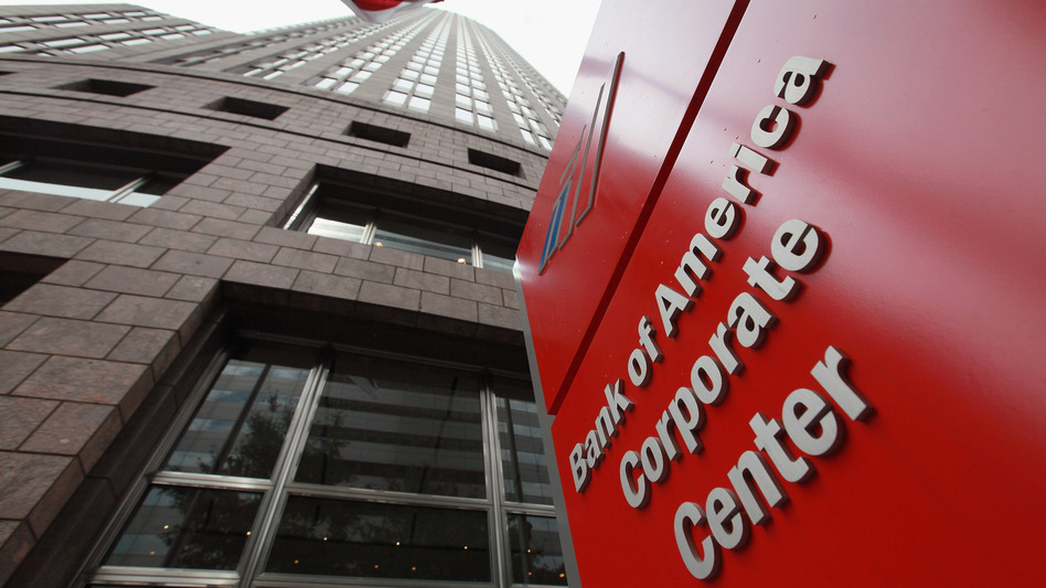 Bank of America's corporate center in Charlotte, N.C. (Getty Images)