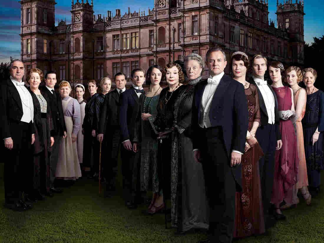 The cast of Season 3 of the worldwide smash series Downton Abbey.