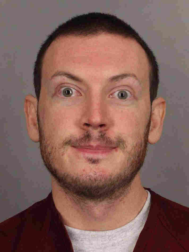 James Holmes faces multiple counts of first-degree murder and attempted murder in the July 20 theater shooting in Aurora, Colo. Here, he's seen in a photo from the Arapahoe County Sheriff's Office.