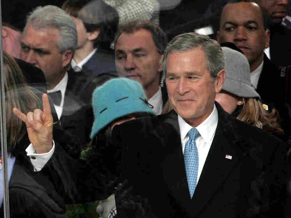 """What's so odd about President Bush giving the """"Hook 'em, 'horns"""" salute of the University of Texas Longhorns during the inaugural parade in 2005? Nothing, unless you were in Norway, where people thought his gesture was a salute to Satan."""