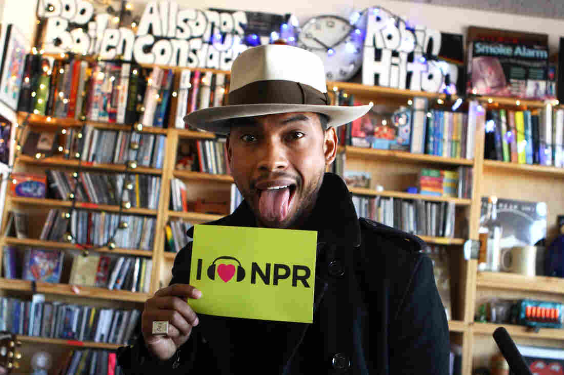 Miguel at NPR HQ in Washington, D.C.