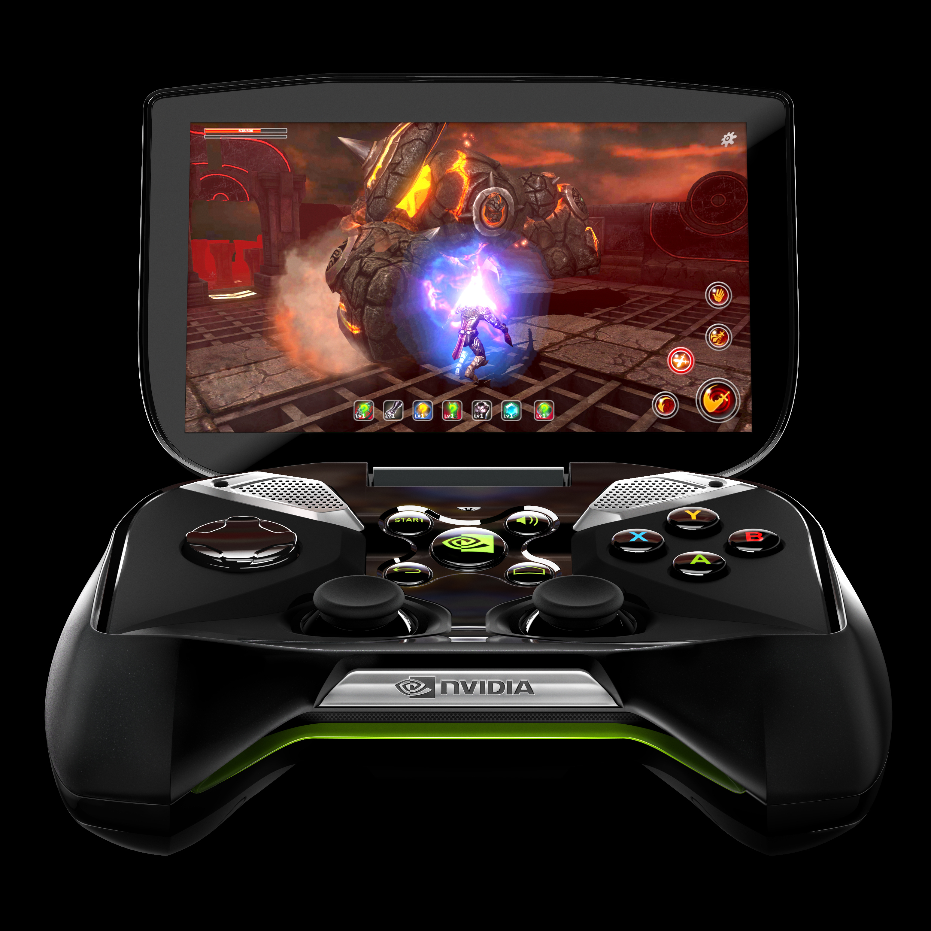 Nvidia's Shield allows gamers to stream either Android games or PC games onto their big-screen TVs.