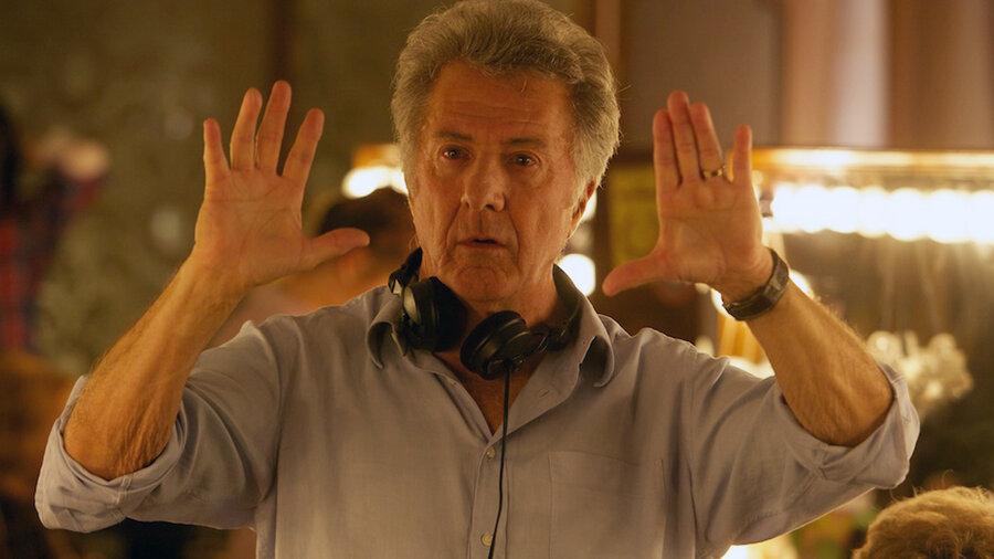 Dustin Hoffman Makes His