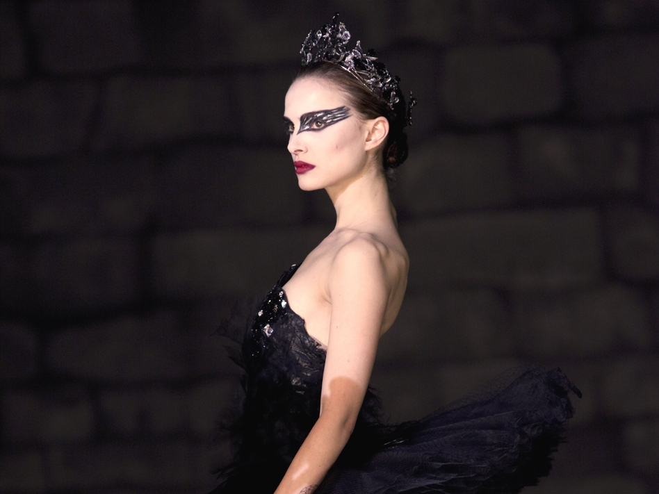 In this film publicity file image released by Fox Searchlight, Natalie Portman is shown in a scene from Black Swan. Fashionistas flipped over the film's forward-thinking ballet costumes by Rodarte, sisters Laura and Kate Mulleavy. (AP)
