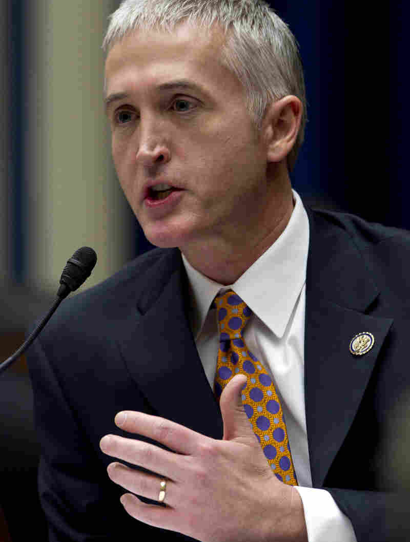 Rep. Trey Gowdy, R-S.C., is the new chairman of the House Judiciary Committee's subcommittee on immigration and border security.
