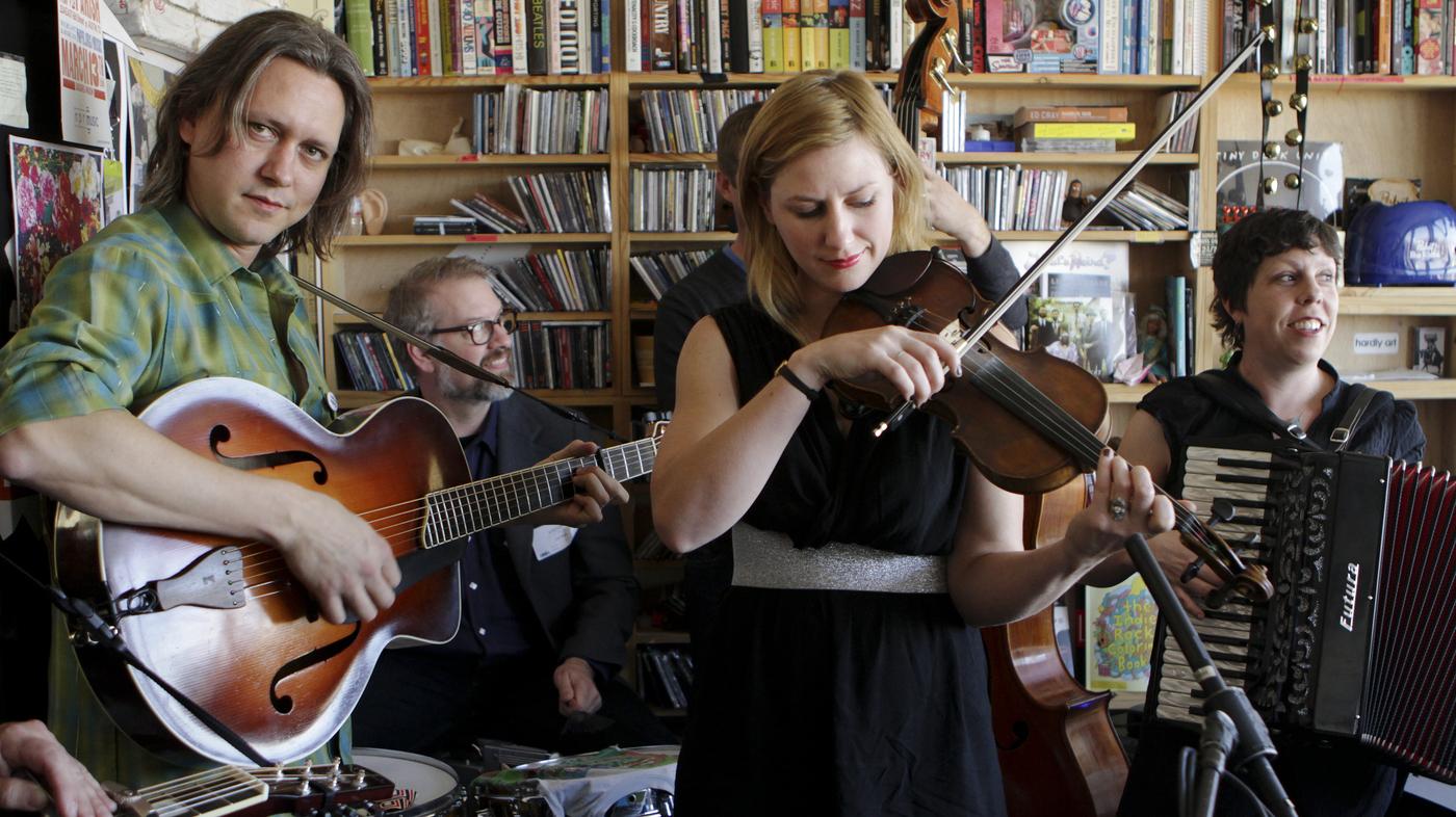 Andrea Echeverri: Black Prairie: Tiny Desk Concert : NPR
