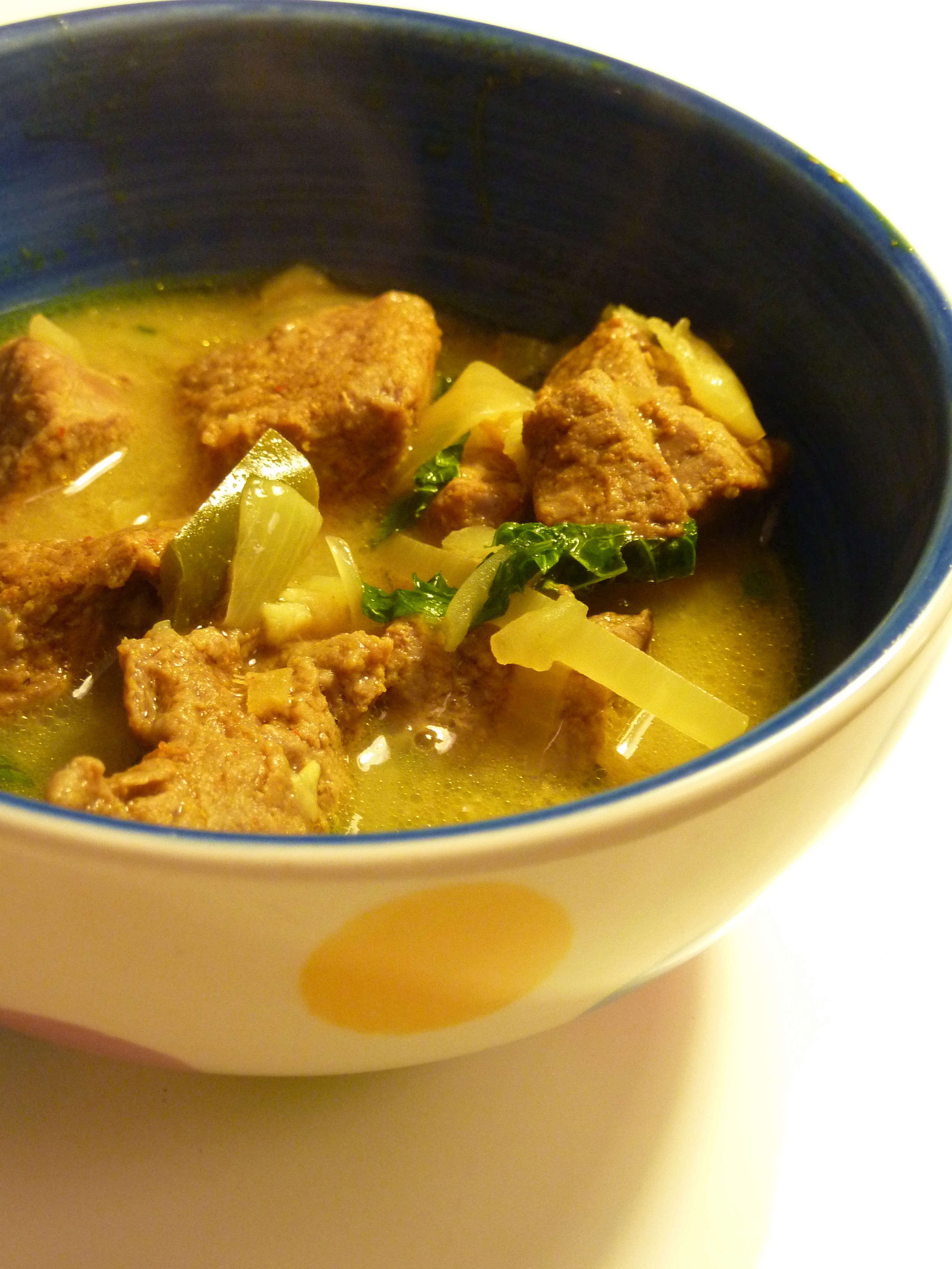 Ginger-Lamb Coconut Curry