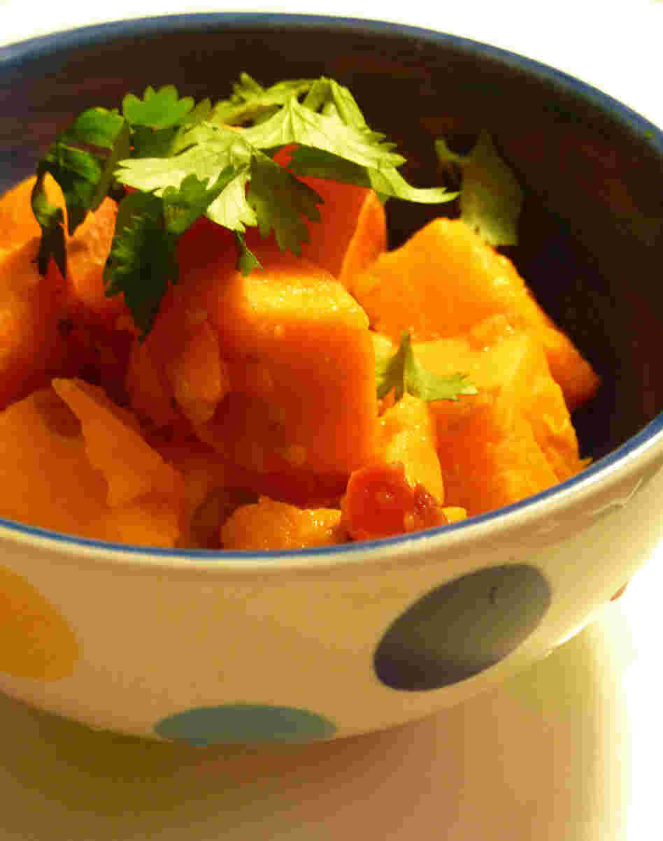 Sweet Potatoes With Ginger And Lemon