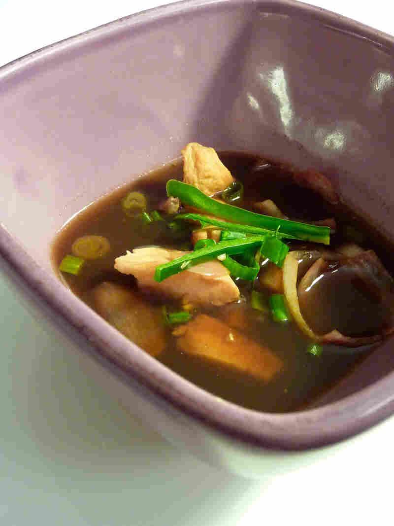 Ginger-Tamarind Fish Soup