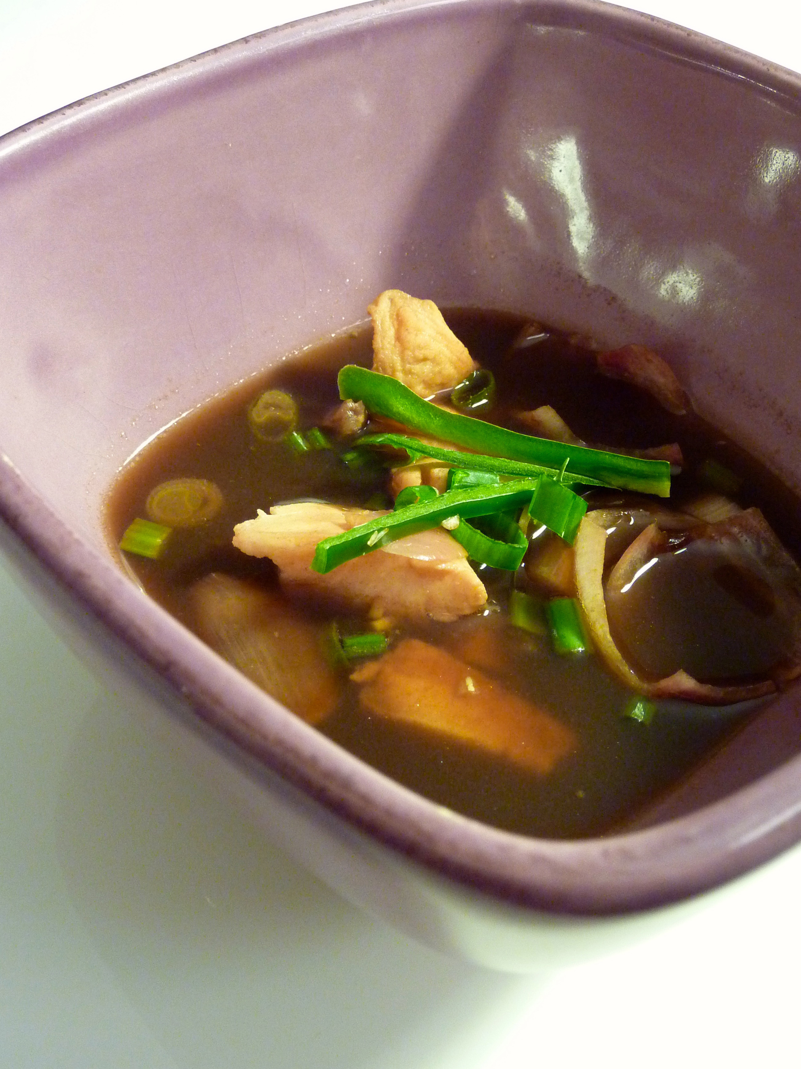 Ginger-Tamarind Fish Soup