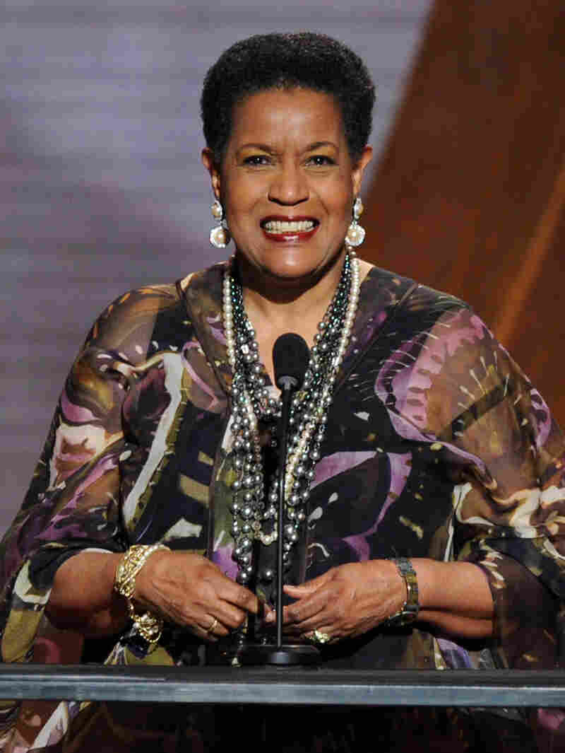 Myrlie Evers-Williams, seen here in 2010, will deliver the invocation at President Obama's second inauguration on Jan. 21.
