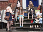 Lena Dunham's series Girls, which follows the lives of a group of young women in New York City, returns to HBO this month.