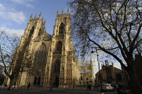 The stones of York Minster in northern England are decaying. Olive oil may be just the dressing the cathedral needs to preserve its Gothic architecture.