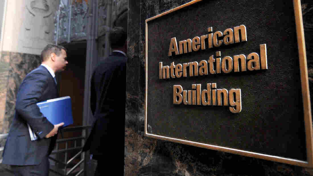 Manhattan: The headquarters of American International Group Inc. (AIG).